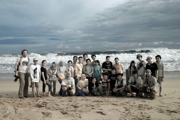 Explore Lampung Barat bersama kawan-kawan HMJ Komunikasi Unila.