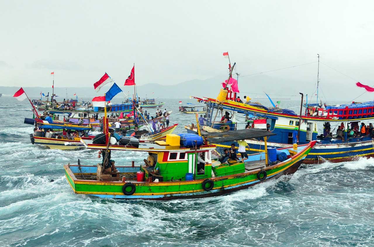 Festival Budaya Maritim di Teluk Lampung