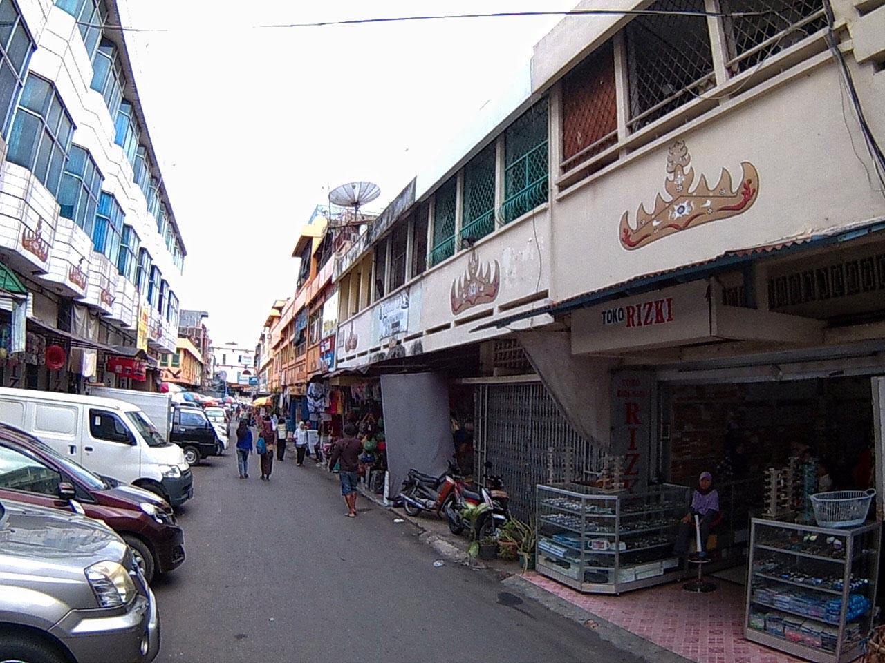 Jalan Bengkulu - Kota Bandar Lampung