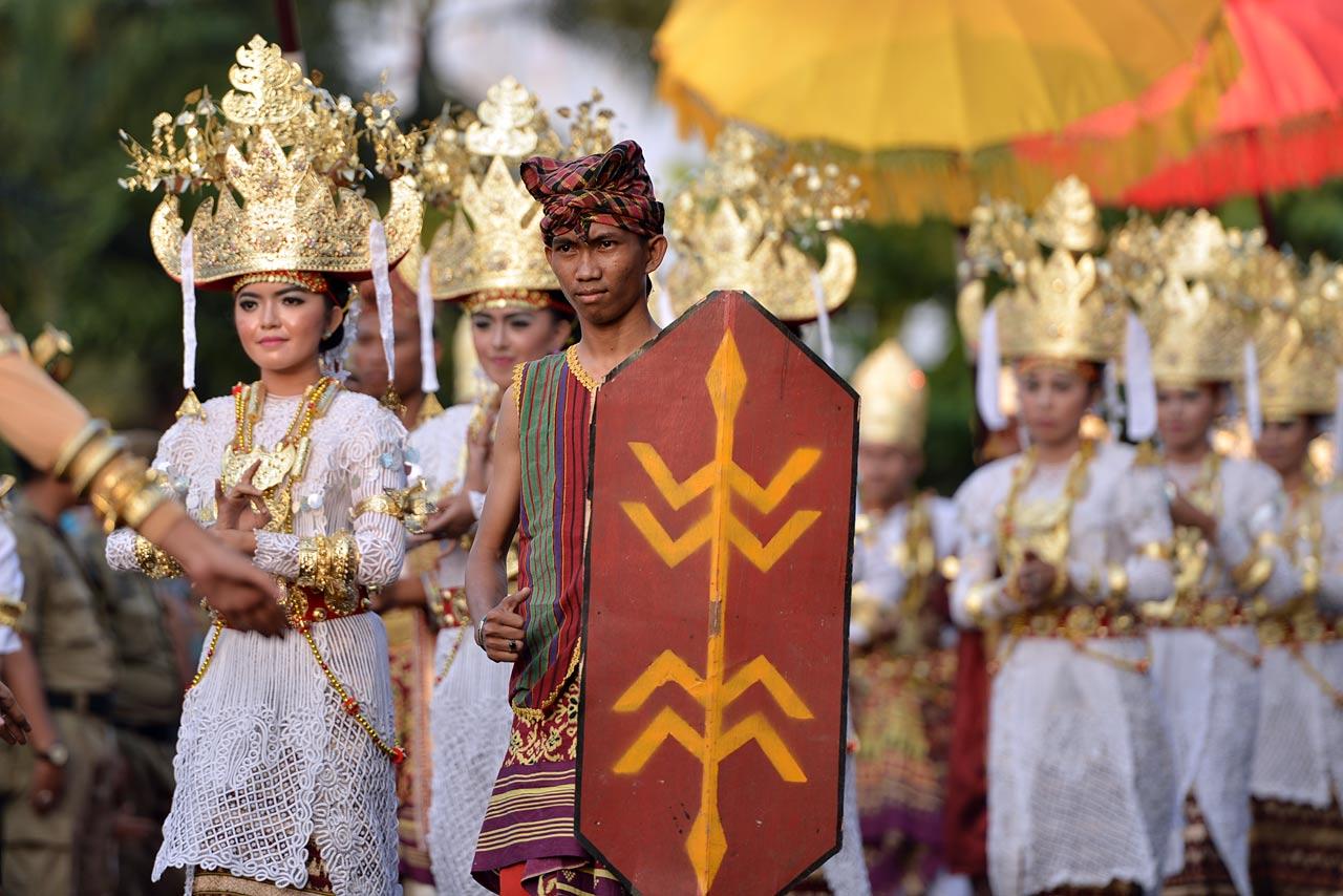 Pawai Budaya - Festival Krakatau 2015 - 17
