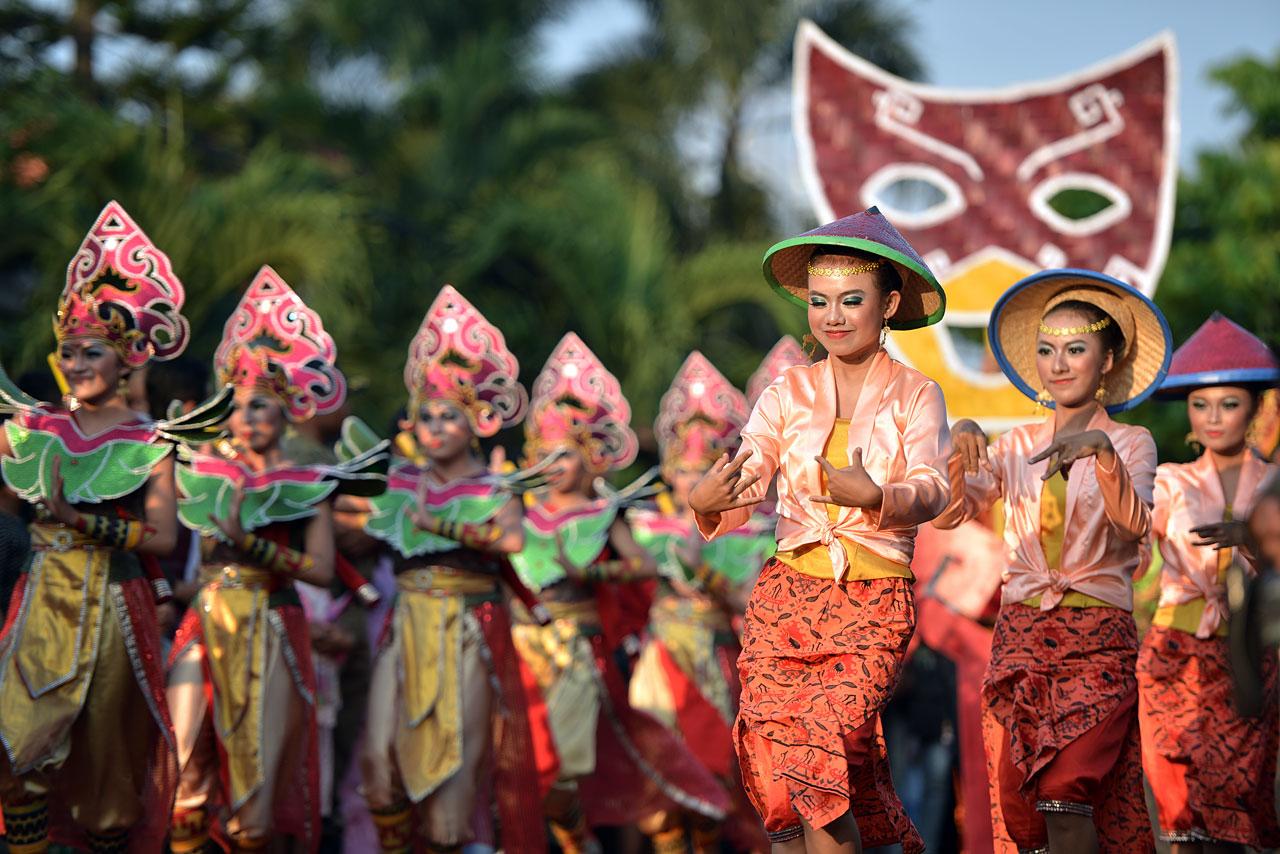 Pawai Budaya - Festival Krakatau 2015 - 5