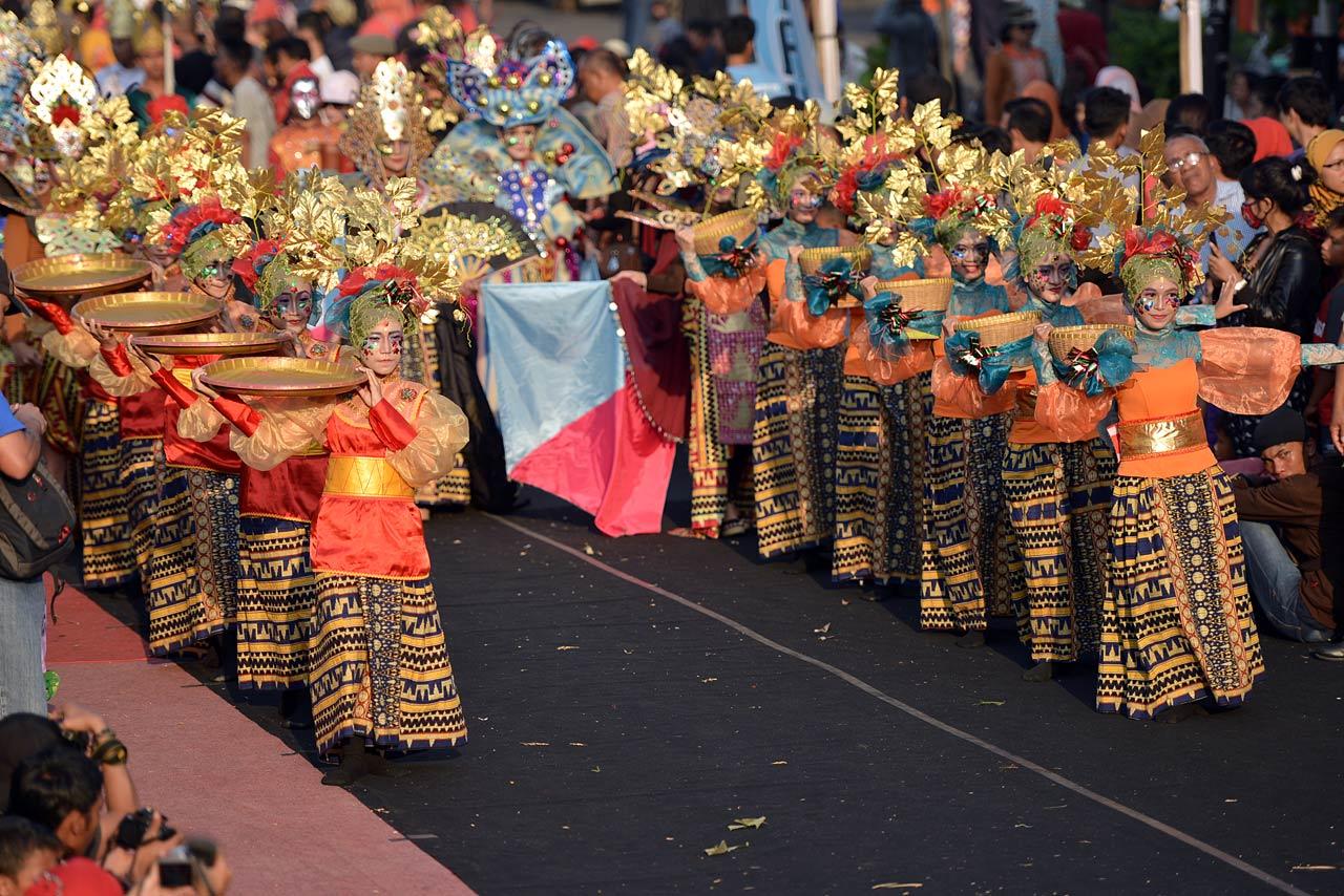 Pawai Budaya - Festival Krakatau 2015 - 7