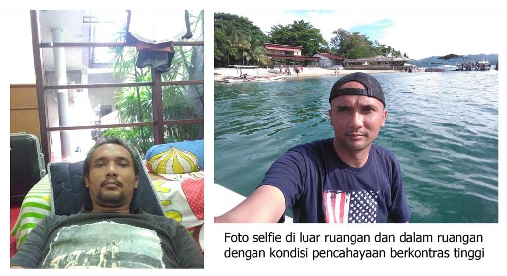 Foto Selfie - Andromax R2 - Yopie Pangkey