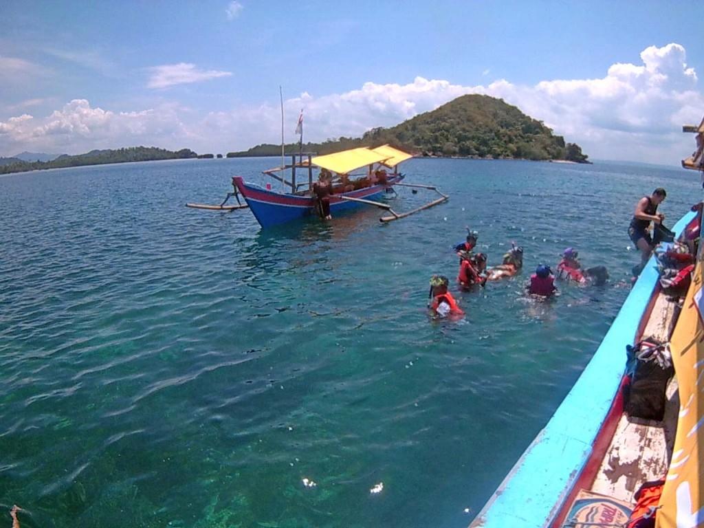 Snorkeling di pulau pahawang - yopie pangkey 2