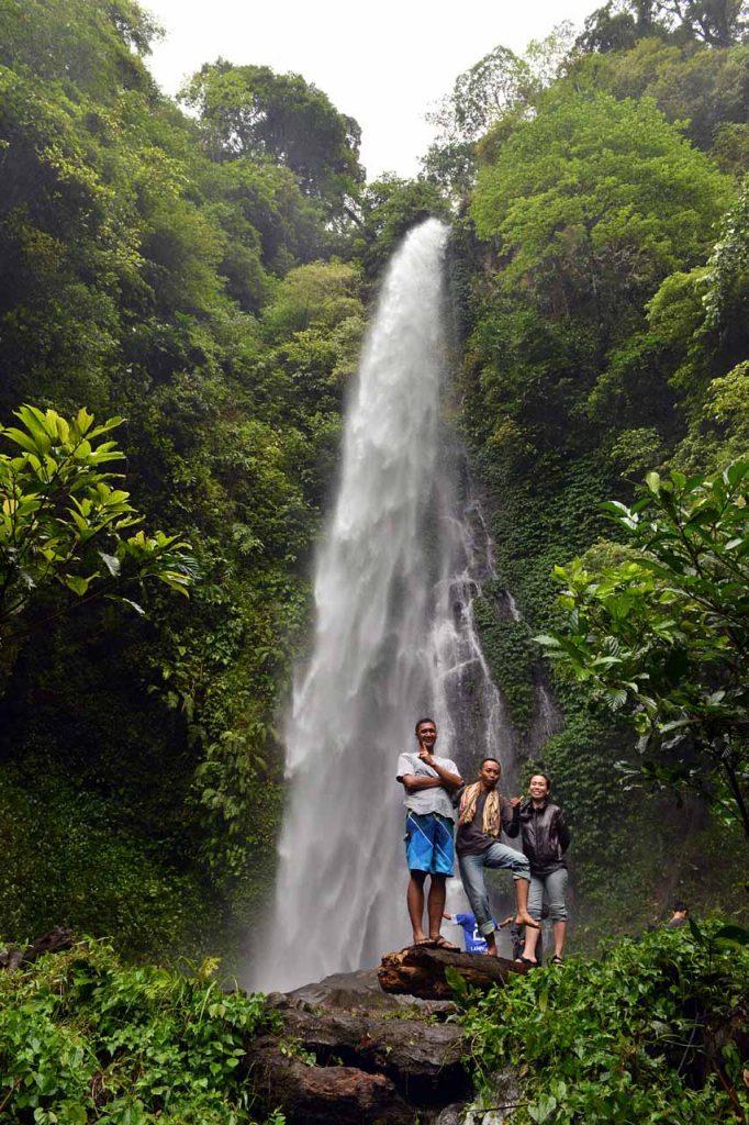 Air terjun Sinar Tiga - Yopie Pangkey