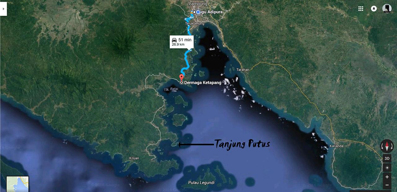 Lokasi Tanjung Putus