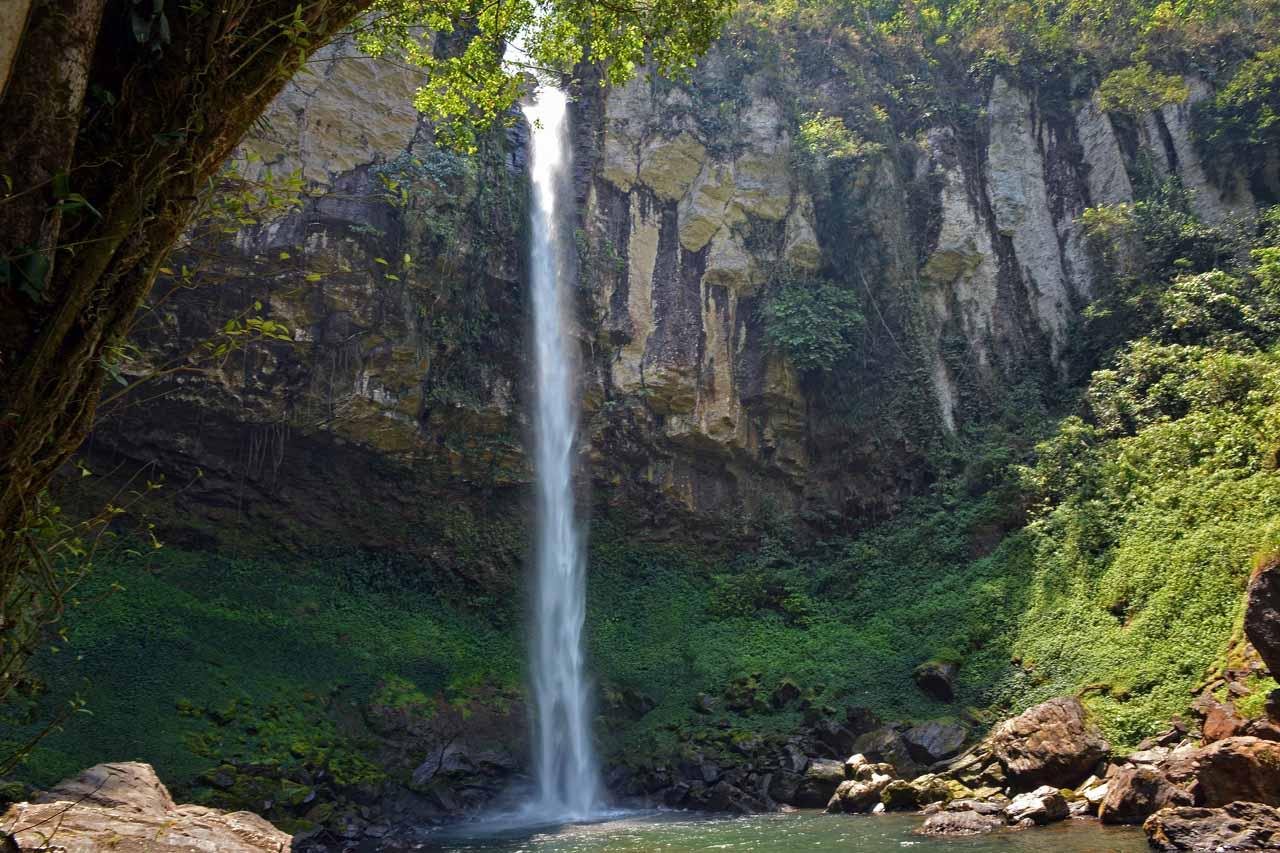 Air Terjun Putri Malu di kab Way Kanan - Yopie Pangkey