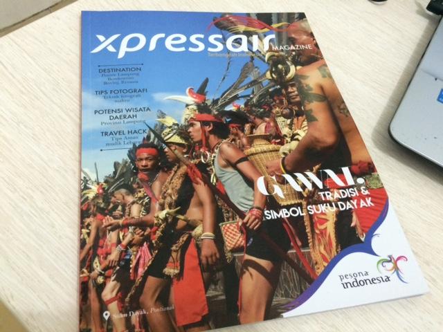 Cover Xpressair edisi 06 - Juli 2016