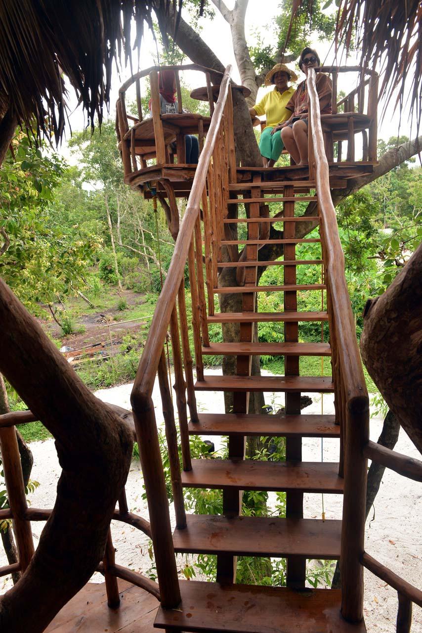 Rumah Pohon Pulau Leebong - Wisata Belitung - Yopie Pangkey - 4
