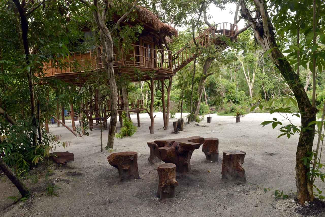 Rumah Pohon Pulau Leebong - Wisata Belitung - Yopie Pangkey - 7