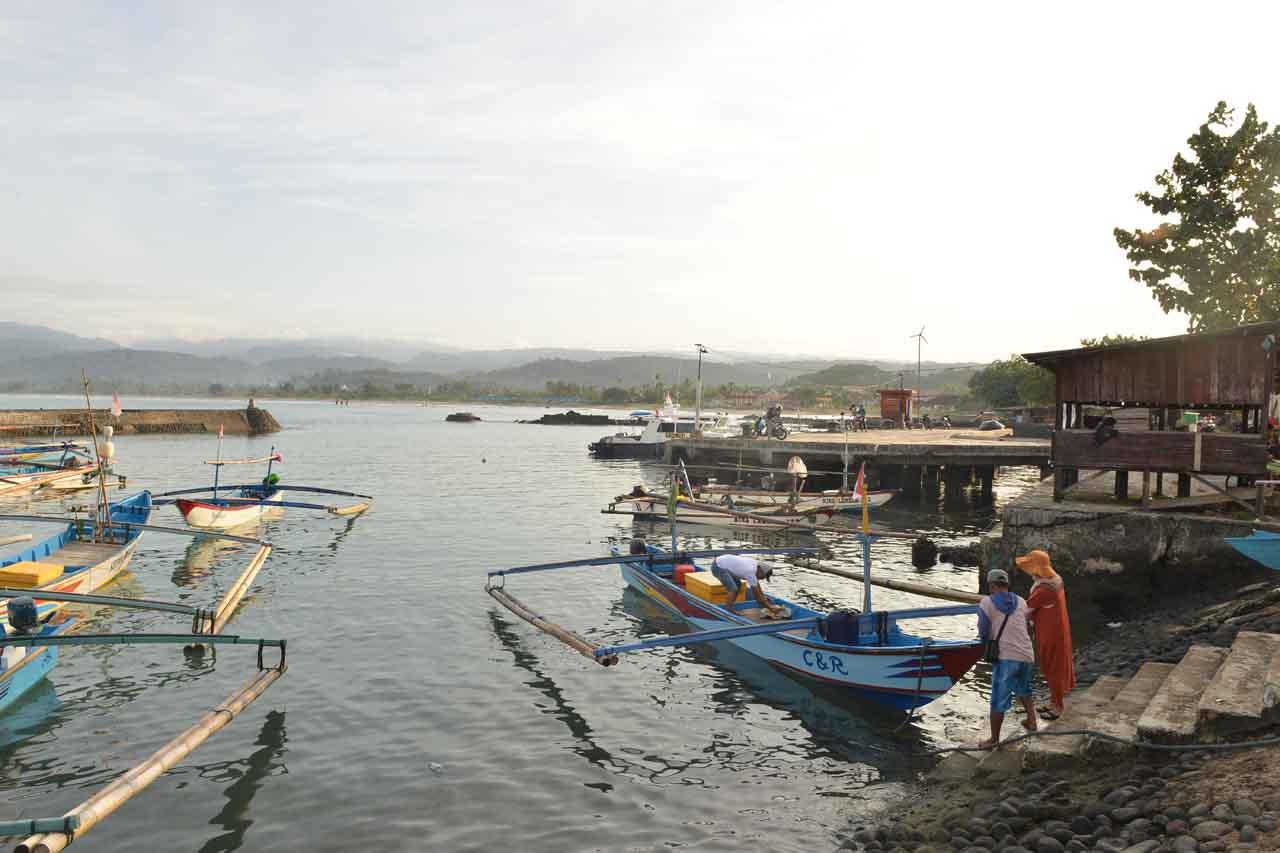 Pelabuhan Kuala Stabas di Krui - Pesisir Barat - Yopie Pangkey