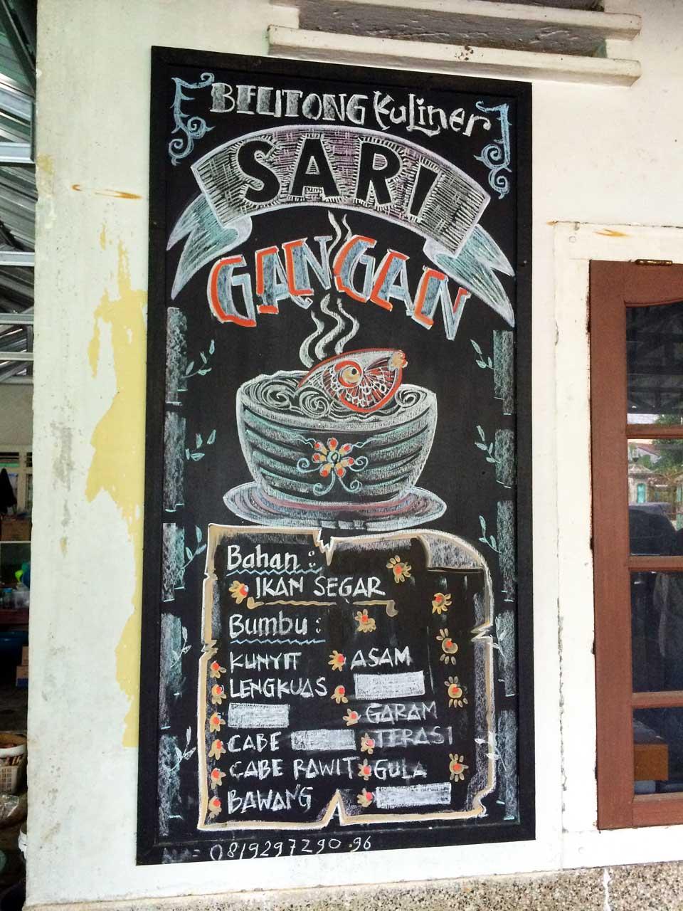 Sop Gangan - RM Sari Gangan - Kuliner Belitung - Yopie Pangkey - 2