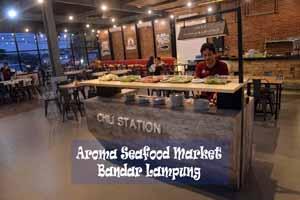 Aroma Seafood Market lampung - Kuliner Bandar Lampung - Thumbnail