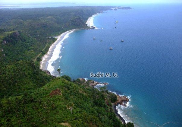 Pantai di Lampung Pantai Teluk Nipah - Budhi Marta Utama