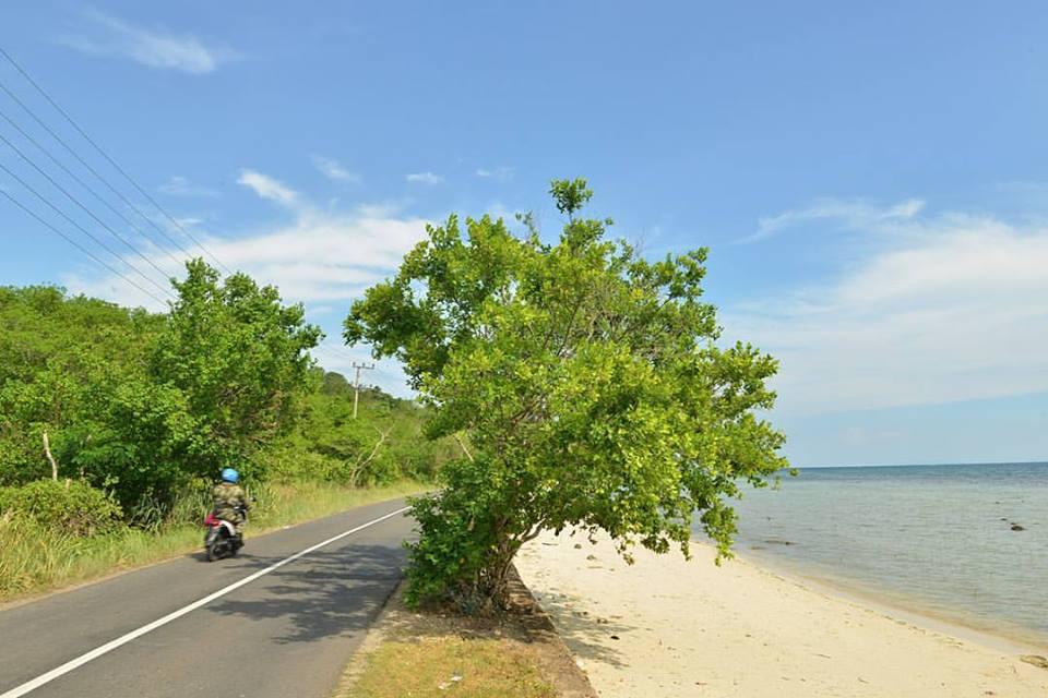 Pantai di dekat pantai batu mandi - yopie pangkey