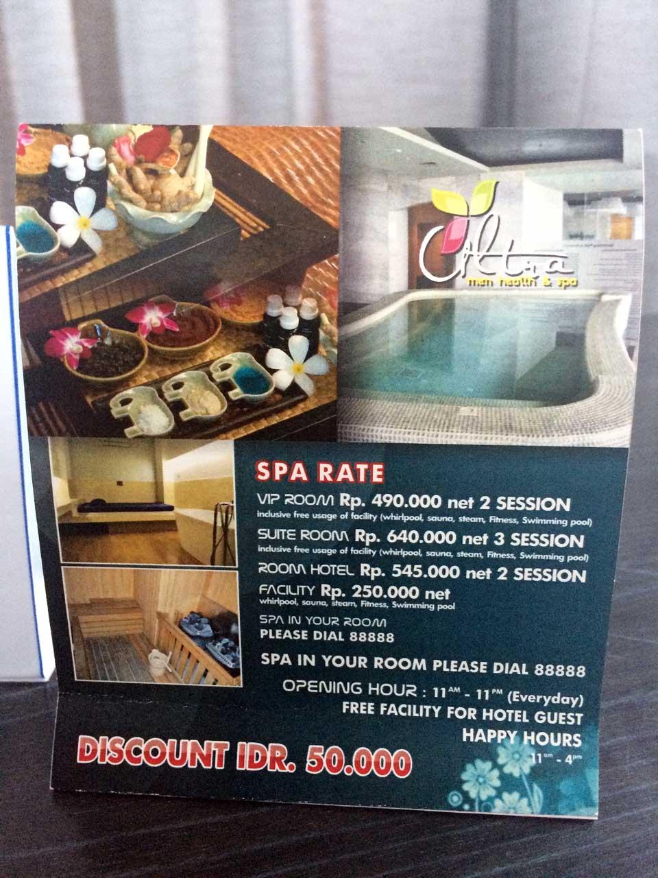 Spa - Hotel Novotel Lampung - Yopie Pangkey