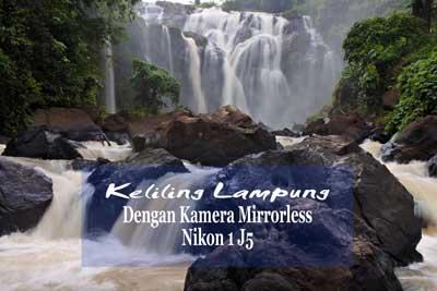 thumbnaik - Air Terjun Gangsa - kamera mirrorless Nikon 1 J5 - slowspeed