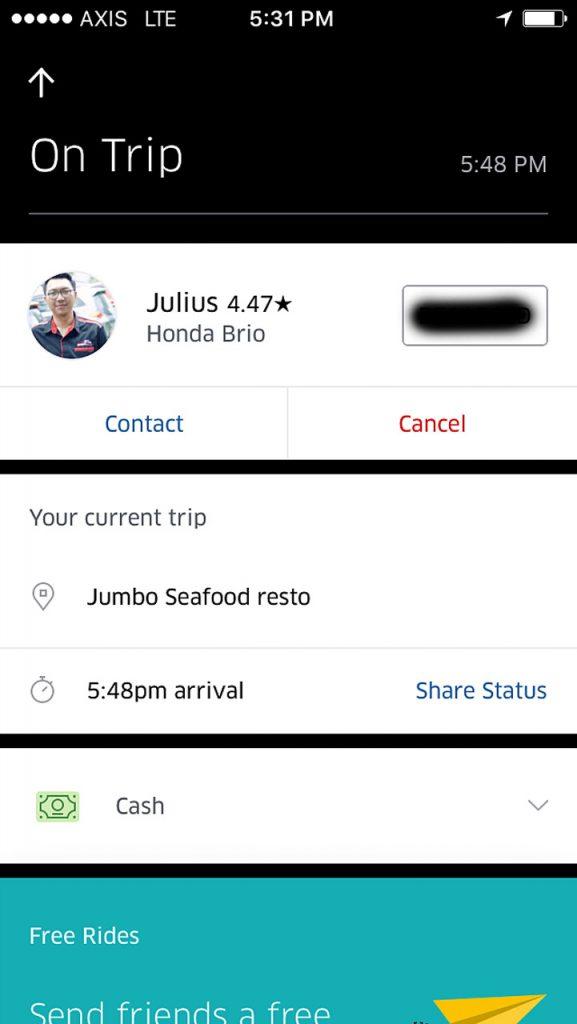 Uber Lampung - taksi online lampung - 2