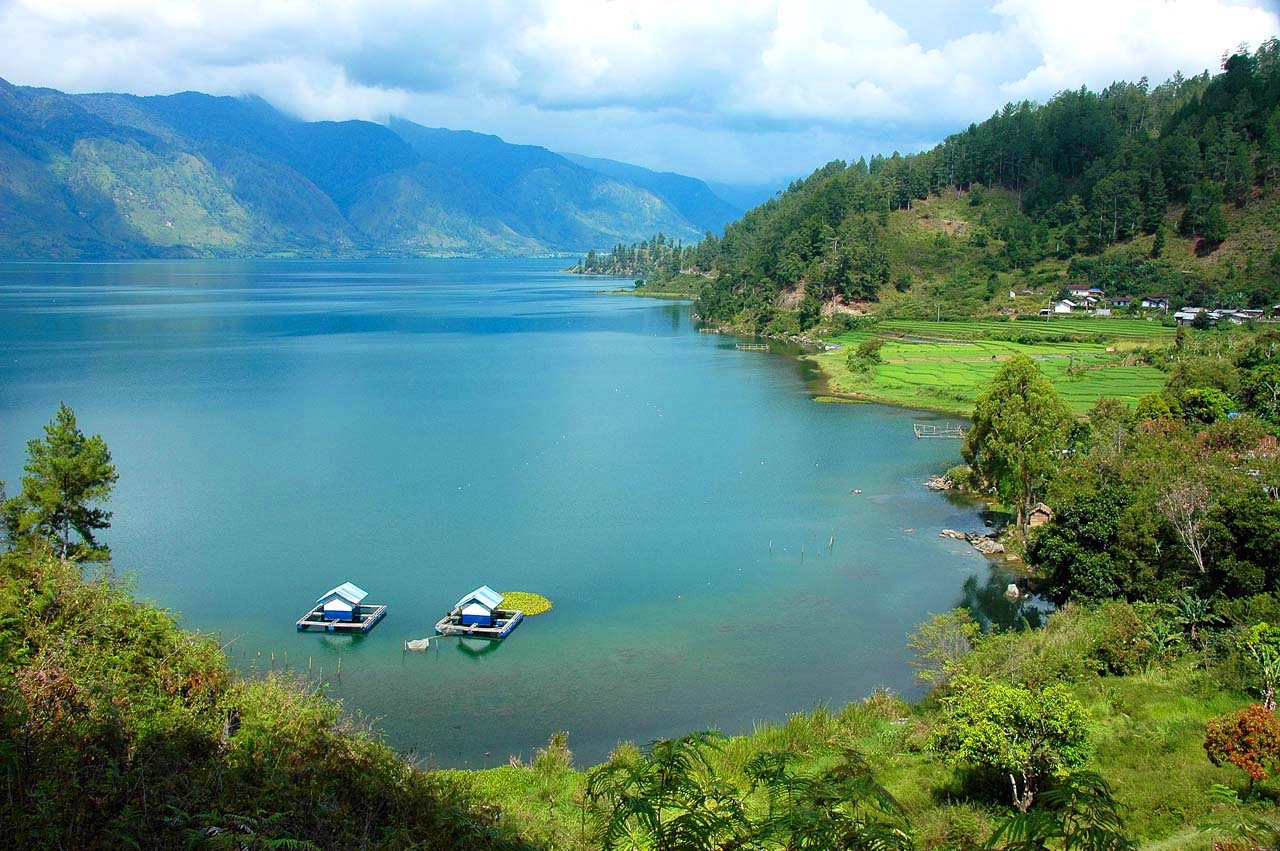 Image result for Danau laut Tawar