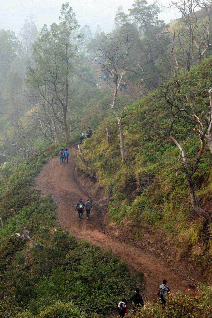 Jalur Pendakian Kawah Ijen - Banyuwangi - Yopie Pangkey - 1