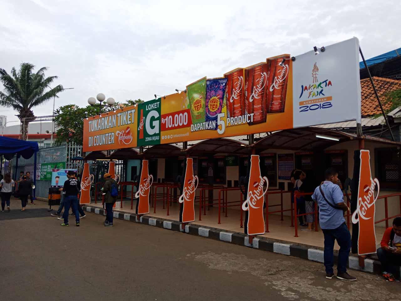 Loket G Jakarta Fair Kemayoran 2018 (JFK 2018) - Yopie Pangkey - 1