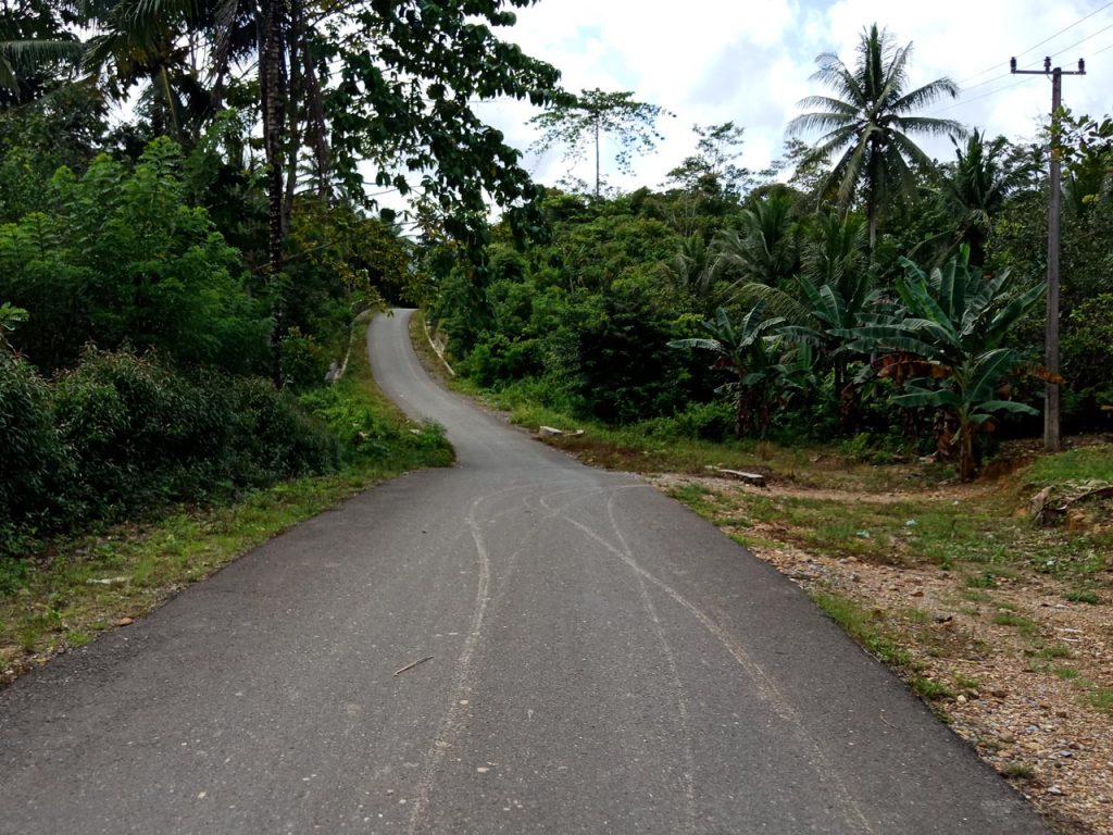 Jalan menuju Air Terjun Moramo - Yopie Pangkey - 16