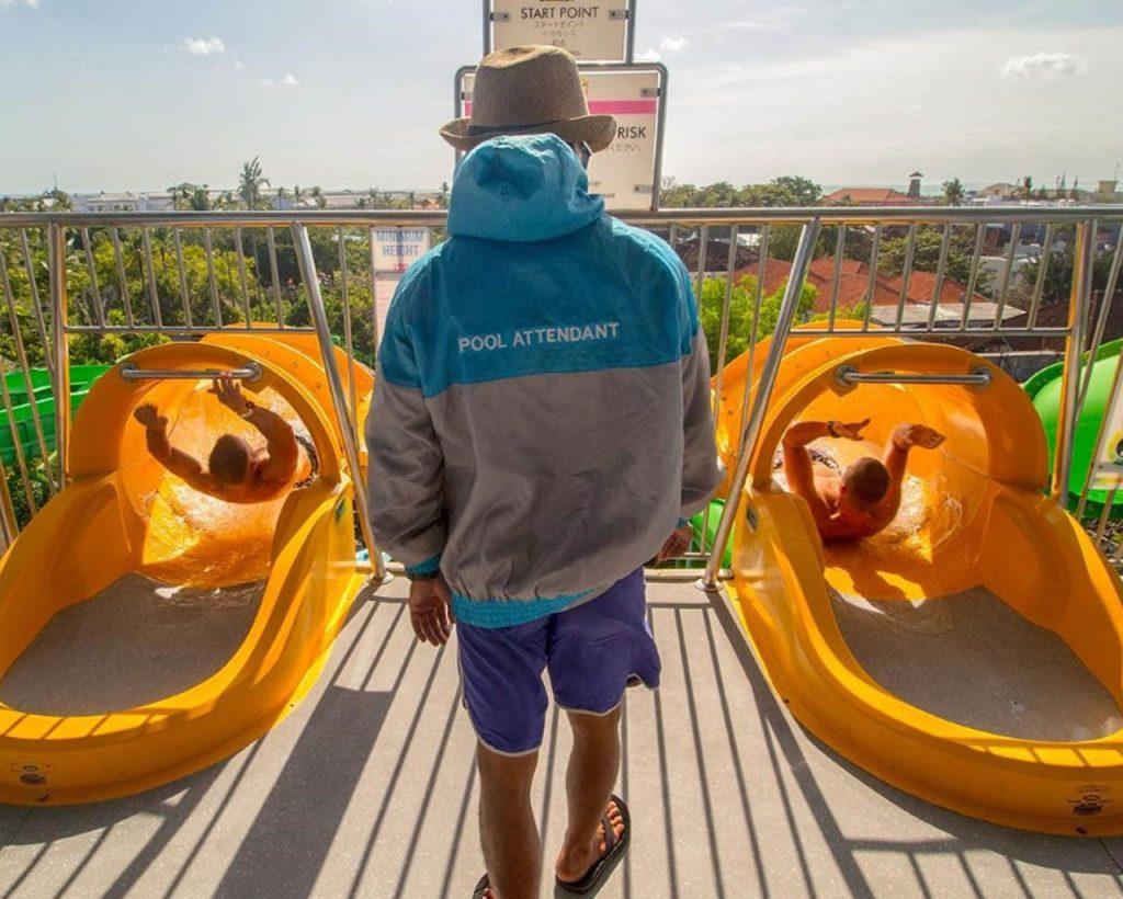 tempat wisata anak di Bali - Waterbom Bali