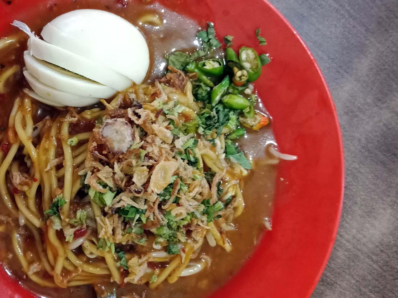 Mie Lendir - Kuliner Khas Tanjungpinang - Kepulauan Riau - Yopie Pangkey - 4