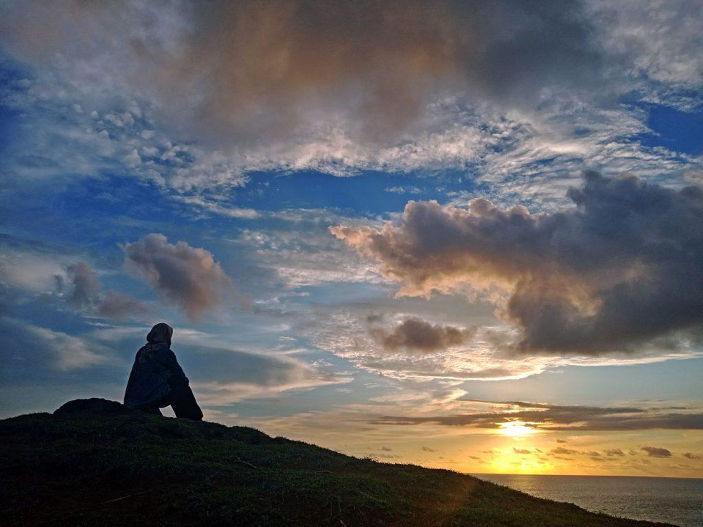 merese hills sunset lombok - sunset di bukit merese - Yopie Pangkey