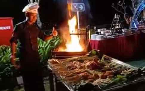 BBQ Friday Night Emersia Hotel - Kuliner Bandar Lampung - 1