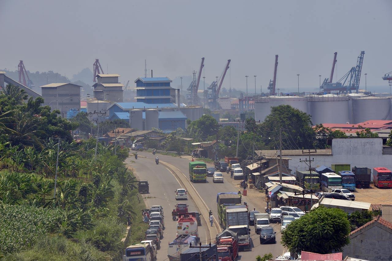 View dari Pura Kerti Bhuana - Yopie pangkey