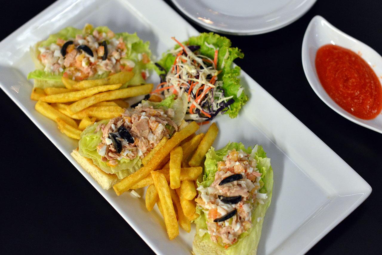 tuna fish open sandwich - selebriti-2