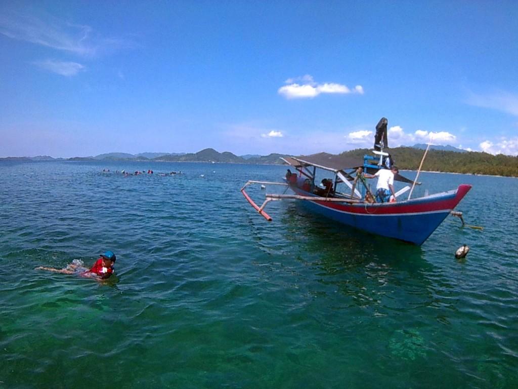 Snorkeling di pulau pahawang - yopie pangkey 1