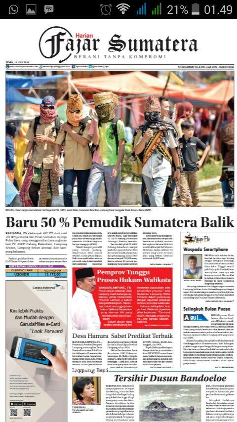 Pesta Sekura - Fajar Sumatera - Yopie Pangkey