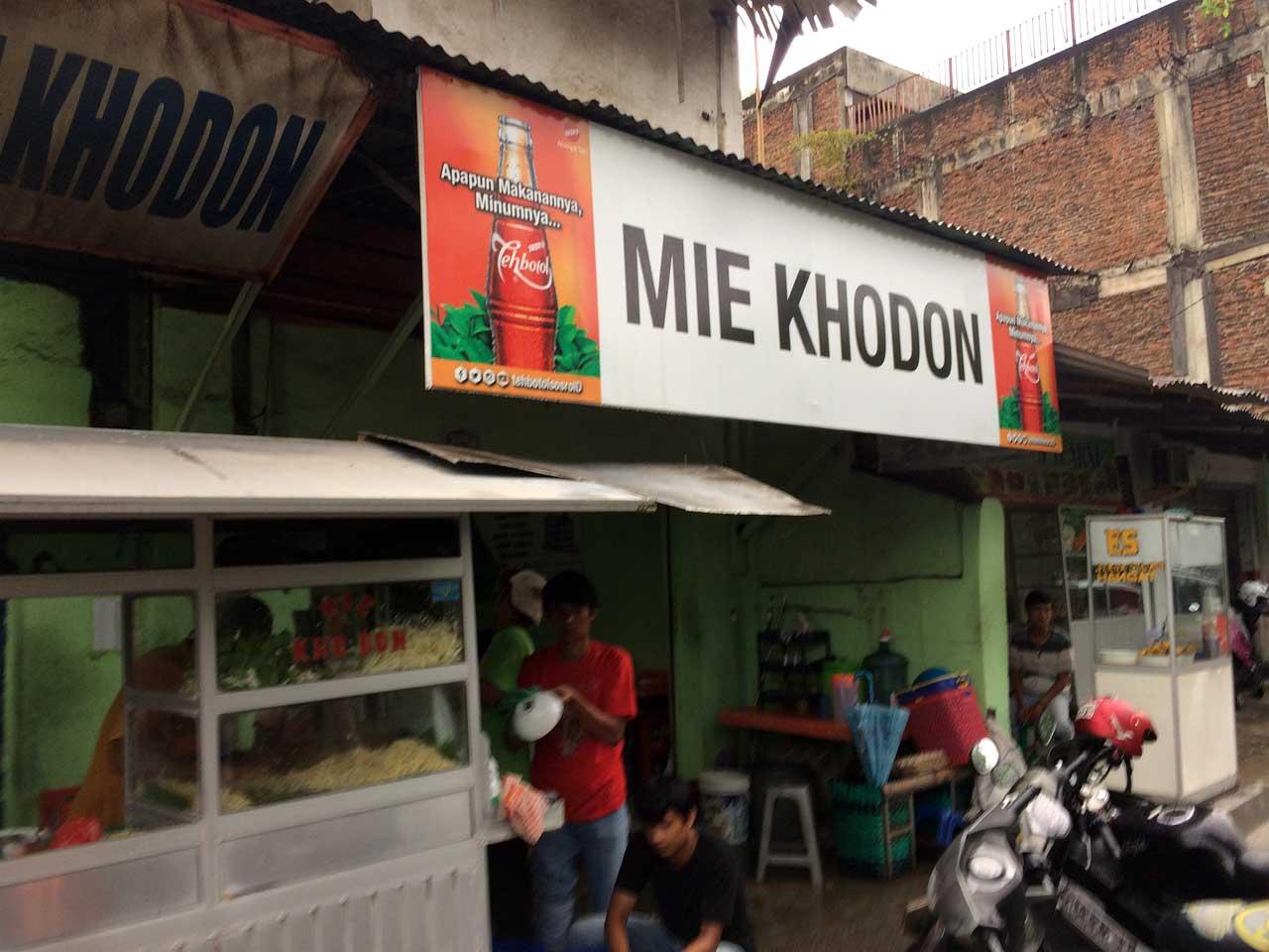 Mie Khodon - tempat makan murah di bandar lampung - yopie pangkey - 1