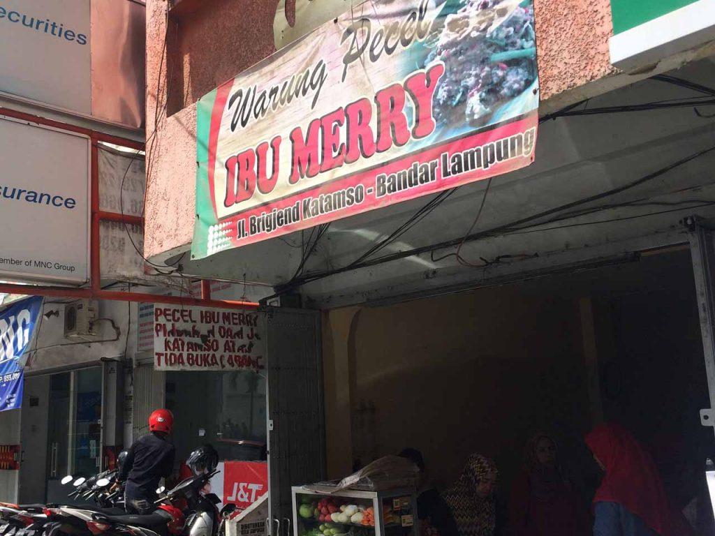 Warung Pecel Bu Merry - Kuliner Bandar Lampung - iphone 5s - Yopie Pangkey - 1