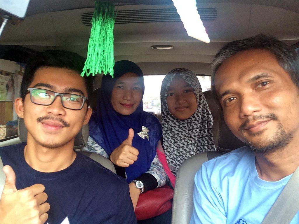 Pengalaman naik Uber Lampung - yopie pangkey - keliling lampung