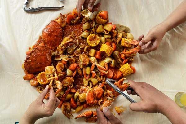 menu baru aroma seafood market lampung - combo the king - combo the queen - yopie pangkey - 4@