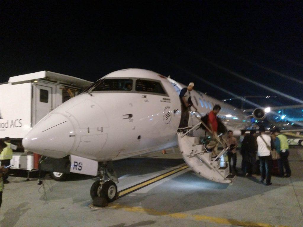 Penerbangan langsung garuda jakarta banyuwangi - yopie pangkey - 9