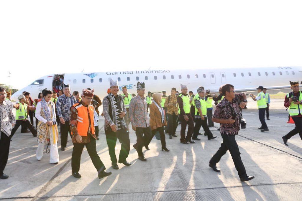 Penerbangan langsung garuda jakarta banyuwangi - menteri pariwisata - arief yahya - 3