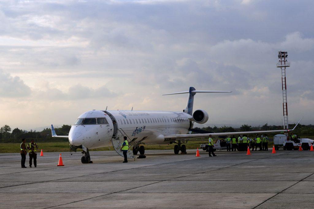 Penerbangan langsung Garuda jakarta banyuwangi - yopie pangkey - 3