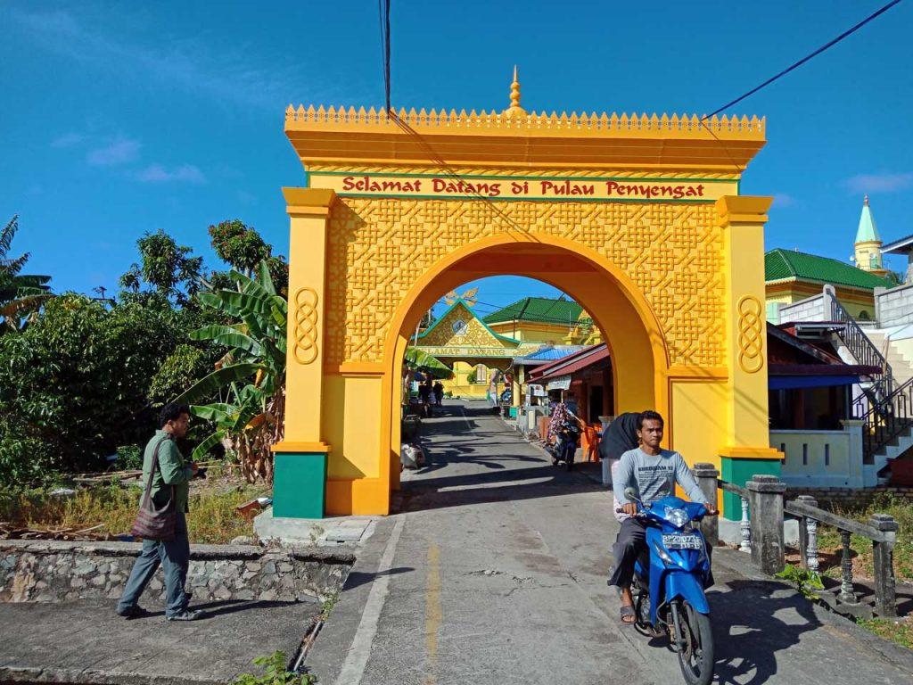 Gerbang Selamat Datang - Wisata Pulau Penyengat - Yopie Pangkey - 6