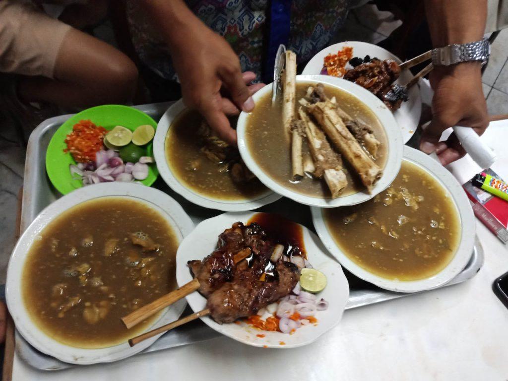 Kuliner Sate Gule 29 Kota Lama Semarang - Yopie Pangkey - 2